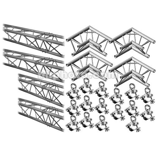 Milos M222 Trio QuickTruss Hanging Kit - 7.5 x 10.8'