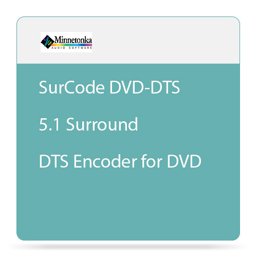 SurCode SurCode DVD-DTS - 5.1 Surround DTS Encoder for DVD (Upgrade)
