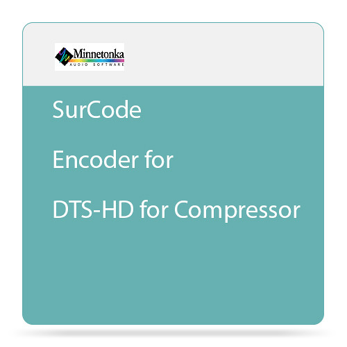 SurCode SurCode Encoder for DTS-HD for Compressor - Plug-In