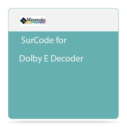 Minnetonka Audio SurCode for Dolby E Decoder - Plug-In Decoder