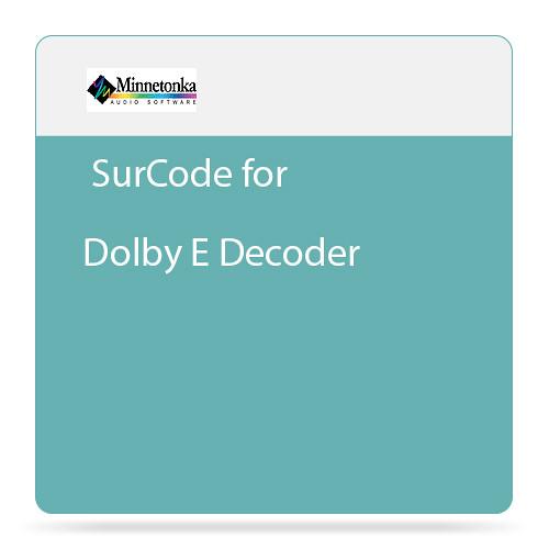 Minnetonka Audio SurCode for Dolby E Decoder - Plug-In Decoder