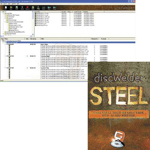 SurCode discWelder Steel - DVD Audio Production Software (Upgrade)