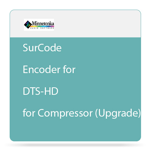 Minnetonka Audio SurCode Encoder for DTS-HD for Compressor - Plug-In (Upgrade)