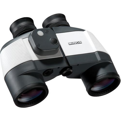 Minox 7x50 Nautic BN C Binocular (Black and White)