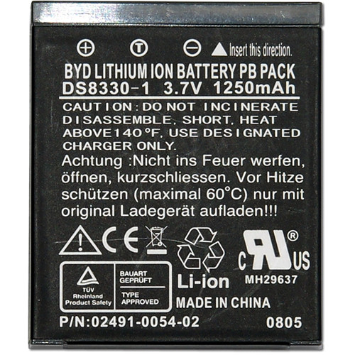Minox BYD Lithium-Ion PB Rechargeable Battery Pack (3.7V, 1250mAh)