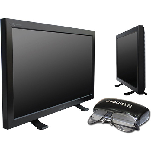 "Miracube G240M 24"" Stereoscopic 2D/3D Computer Display"
