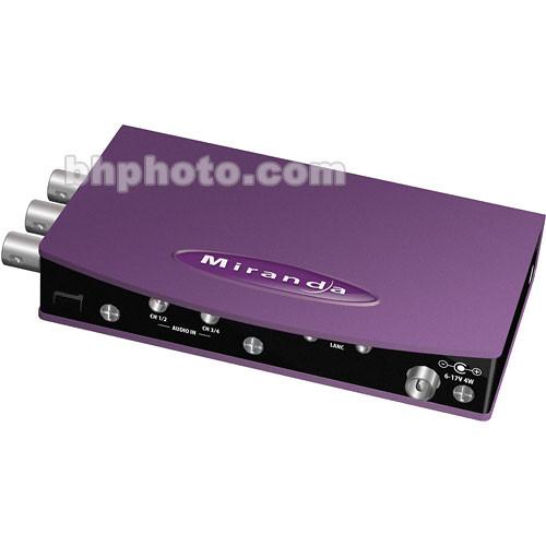 Miranda AMX-800CAM SDI, Time Code and AES Audio Multiplexer