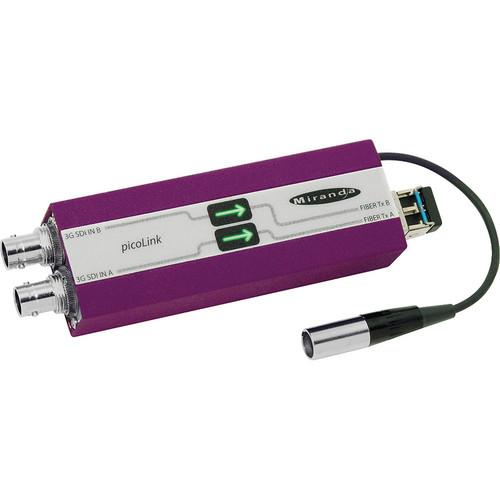 Miranda FIO-991p Dual 3Gbps/HD/SD PicoLink Optical Receiver