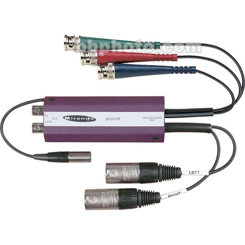 Miranda SDM-177P SDI to Analog Component Video and Balanced Audio Converter