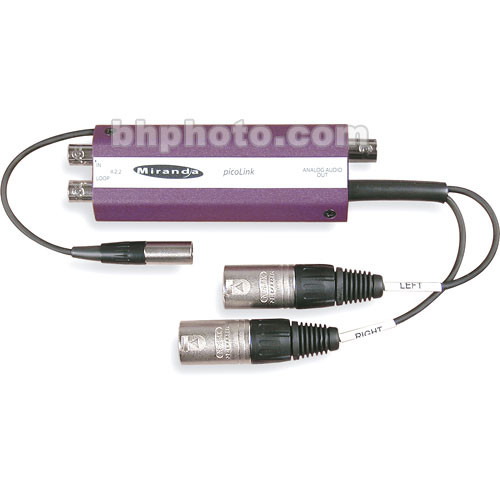 Miranda SDM-277P SDI to Analog A/V Converter