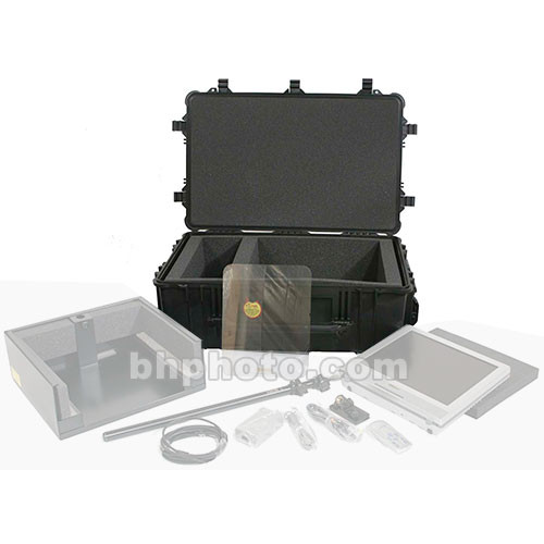 """Mirror Image C2000 Wheeled Shipping Case - for Mirror-Image 20"""" Speech Prompter"""