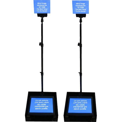 """Mirror Image SP-150MP Speech Series Prompter with Dual 15"""" LCDs"""