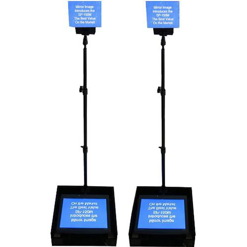 "Mirror Image SP-190MP Speech Series Prompter with Dual 19"" LCDs"