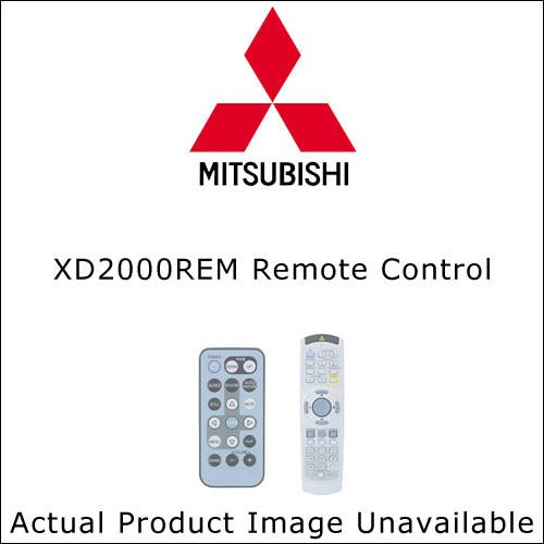 Mitsubishi XD2000REM Remote Control
