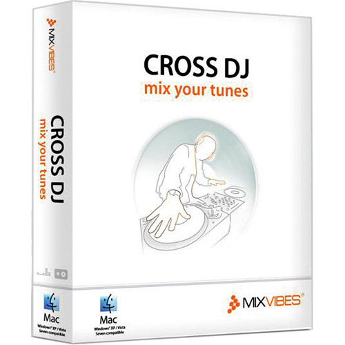 Mixvibes Cross DJ MIDI DJ Software
