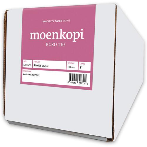 "Moab Moenkopi Washi Kozo 110 Paper (17"" x 49' Roll)"