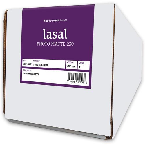 "Moab Lasal Photo Matte 230 Paper (36"" x 100' Roll)"