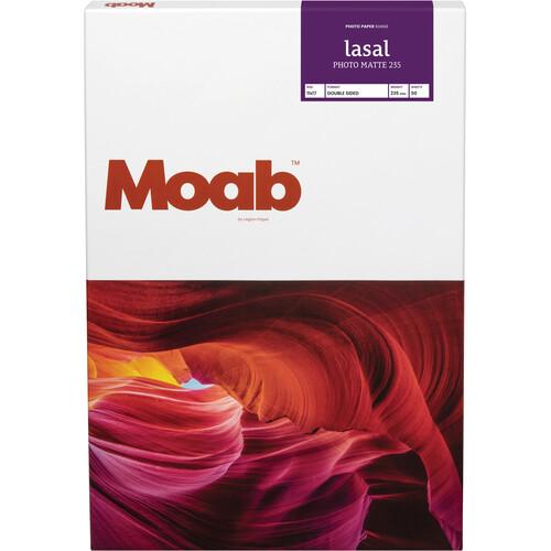 "Moab Lasal Photo Matte 235 (11 x 17"", 50 Sheets)"