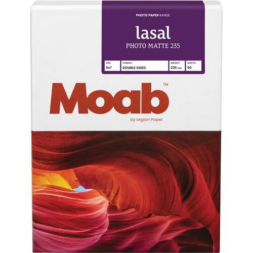 """Moab Lasal Photo Matte 235 (5 x 7"""") - Box of 50"""