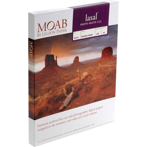 """Moab Lasal Photo Matte 235 (7 x 10"""") - Box of 50"""