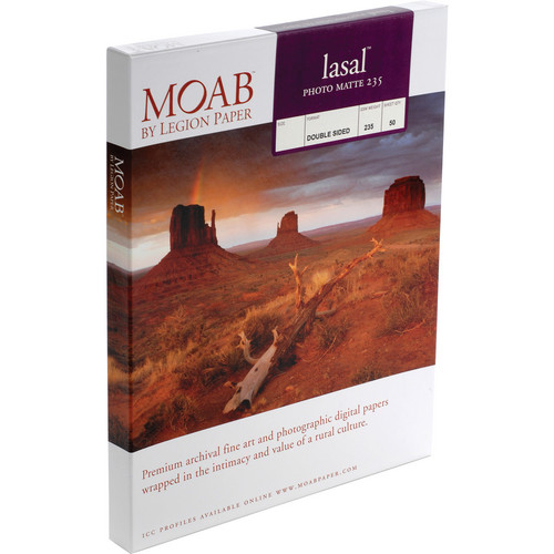 Moab Lasal Photo Matte 235 (A2) - Box of 50