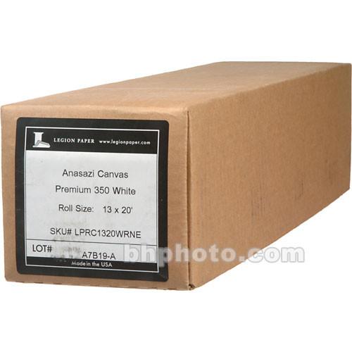 "Moab Anasazi Canvas Premium Matte 350 Inkjet Photo Paper (13"" x 20' Roll)"