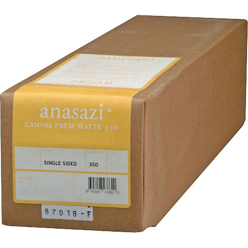 "Moab Anasazi Canvas Premium Matte 350 Inkjet Photo Paper (44"" x 40' Roll)"
