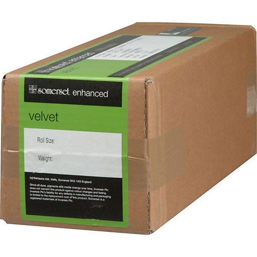 """Moab Somerset Enhanced Velvet 36"""" x 100' Paper (255 GSM)"""