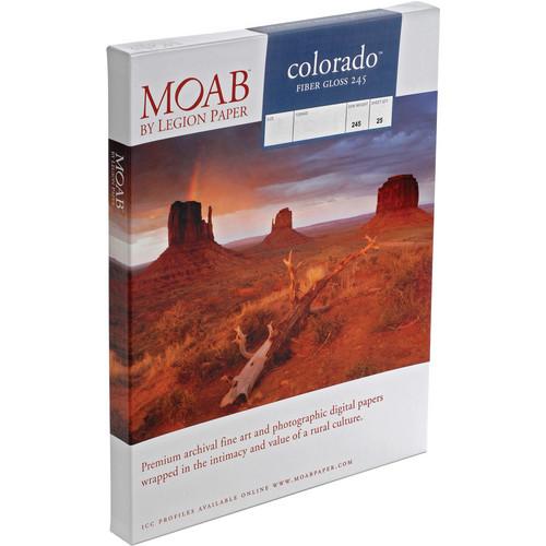 Moab Colorado Fiber  Gloss Paper  245gsm (A2 / 25 Sheets)