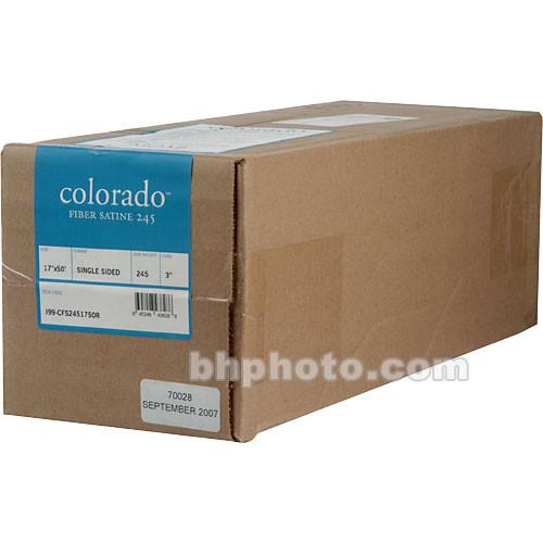"""Moab Colorado Fiber Paper (245gsm)- 17"""" x 50' (Satine)"""