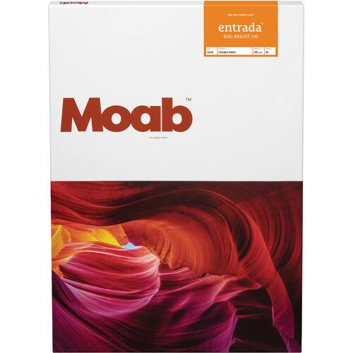 "Moab Entrada Rag Bright 190 Paper (13 x 19"", 25 Sheets)"
