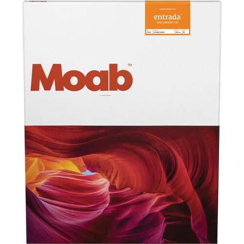"Moab Entrada Rag Bright 190 Paper (17 x 22"", 25 Sheets)"