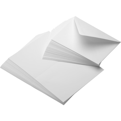 """Moab Entradalopes 190 Bright (7 x 10"""", 25 Cards with Envelopes)"""