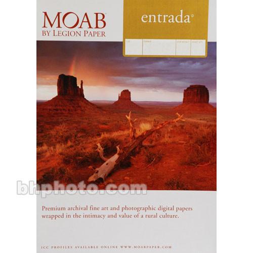 "Moab Entrada Rag Natural 190 Paper (8 x 9"", 25 Sheets)"