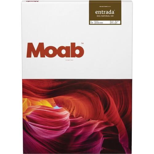 "Moab Entrada Rag Natural 300 Paper (13 x 19"", 25 Sheets)"