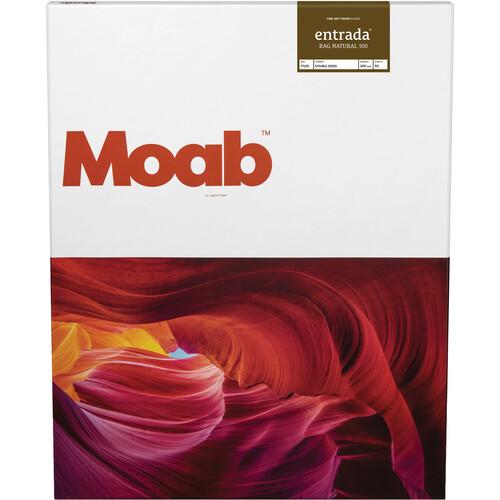 """Moab Entrada Rag Natural 300 (17x25"""" - 50 Sheets)"""