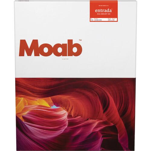 "Moab Entrada Rag Bright 300 Paper (17 x 25"", 50 Sheets)"