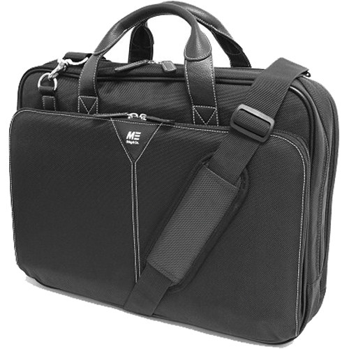 Mobile Edge Premium Nylon Laptop Briefcase (Black)
