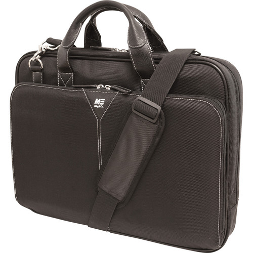 Mobile Edge Select Nylon Laptop Briefcase (Black)