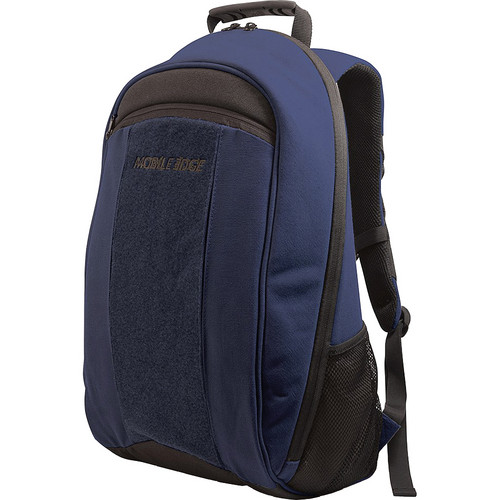 "Mobile Edge MECBP3 ECO Laptop Backpack for 17.3"" Laptop Computer (Navy Blue)"