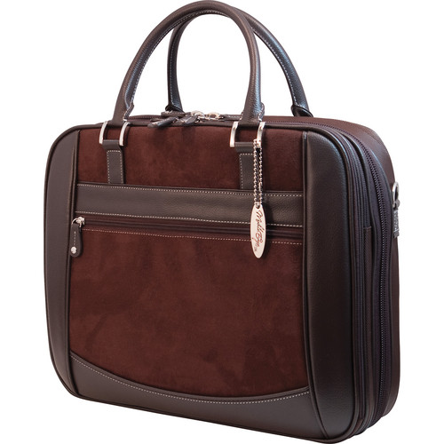 Mobile Edge ScanFast Element Checkpoint Friendly Briefcase (Brown)