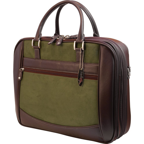 Mobile Edge ScanFast Element Checkpoint Friendly Briefcase (Green)