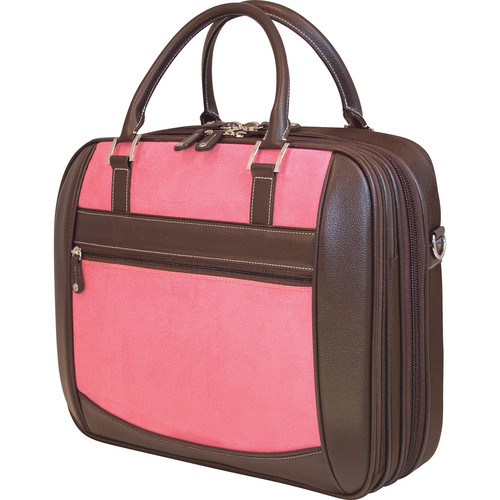 Mobile Edge ScanFast Element Checkpoint Friendly Briefcase (Pink)