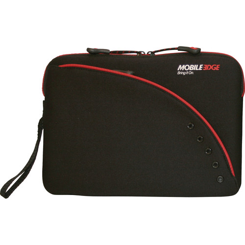 "Mobile Edge Ultra Portable / Netbook Sleeve 8.9"" (Black/Red)"