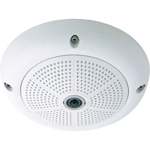 MOBOTIX Q24M-Basic Hemispheric Camera with D11 Day Sensor (White)