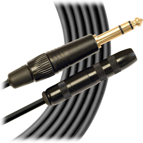 "Mogami Gold Stereo 1/4"" Male to Stereo 1/4"" Female Extension Cable - 10'"