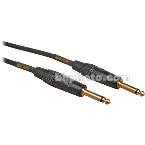 "Mogami Gold Instrument 1/4"" Male to 1/4"" Male Instrument Cable - [25' (7.62 m)]"