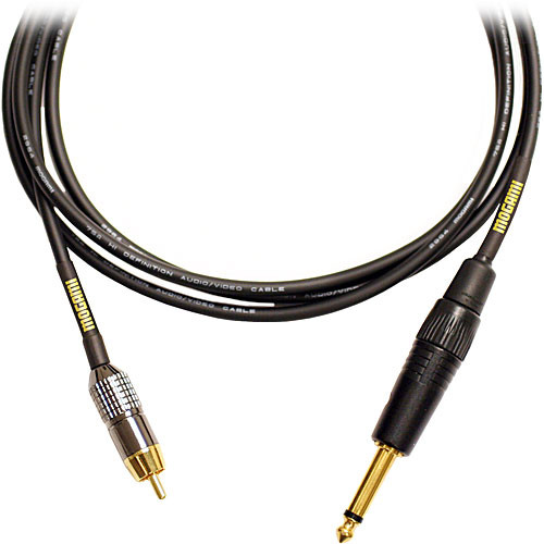 """Mogami Gold TS 1/4"""" Male to RCA Male Patch Cable - 12'"""