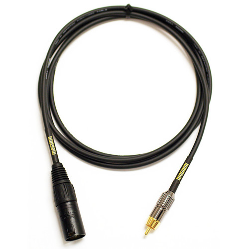 Mogami Gold RCA Male to XLR Male Cable (20')