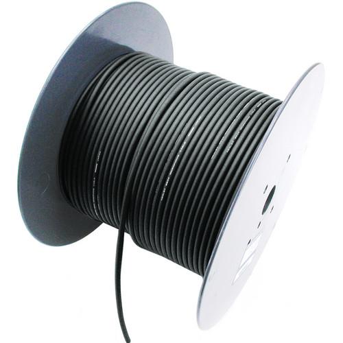 Mogami W2697 Miniature Balanced/Lavalier Microphone Bulk Cable (Black, 328' Roll)